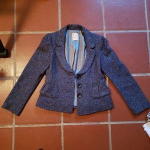 Vintage Nanette Lepore Navy Blue Buisiness Suit